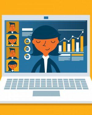 Teacher Assistant App for E Learning Courses